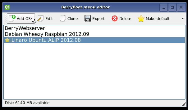 berryboot for cubieboard